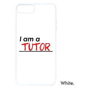 I Am A Tutor Apple Phonecase