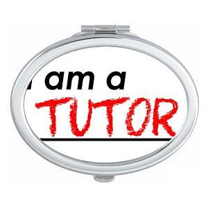 I Am A Tutor Compact Mirror