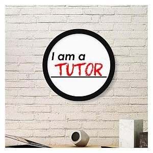 I Am A Tutor Framed Print