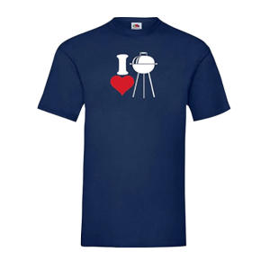 I Love Barbecuing T Shirt