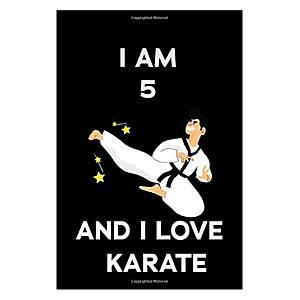 I Love Karate Notebook