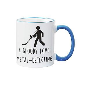 I Love Metal Detecting Mug