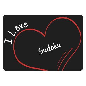 I Love Sudoku Mouse Mat