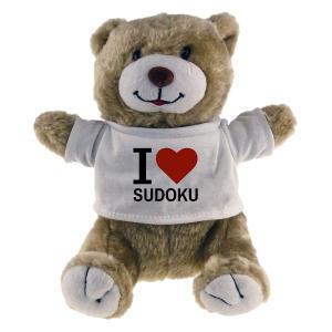 I Love Sudoku Toy Bear