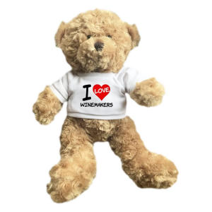 I Love Winemakers Cuddle Soft Teddy Bear