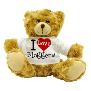 I Love Bloggers Teddy Bear