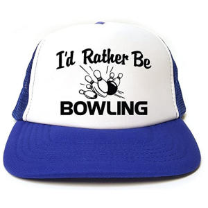 Rather Be Bowling Baseball Cap