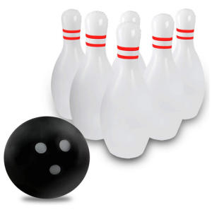 Giant Inflatable Bowling Set for Kids & Adults
