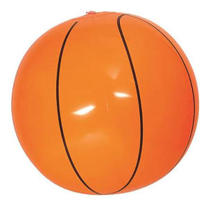 Inflatable Orange Beach Basketball