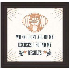 Inspirational Fitness Enthusiast Art Print