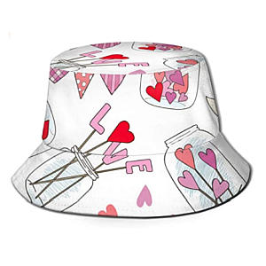 Jam Jar Print Hat