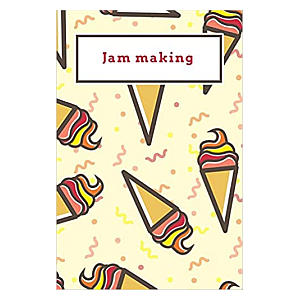 Jam Making Notebook