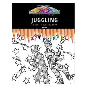 Juggling - An Adult Colouring Book