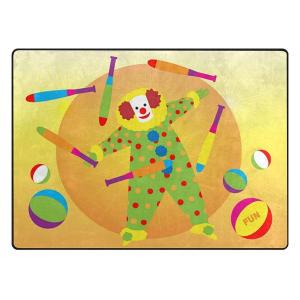 Juggling Clown Rectangular Rug