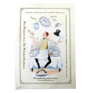 Juggling Mr Town Talk Tea Towel