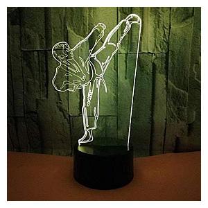 Karate 3D Night Light