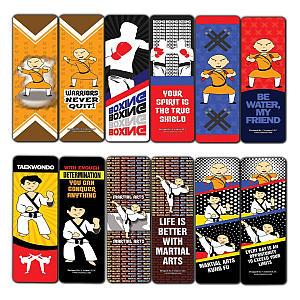 Karate Bookmark Cards (12-Pack)