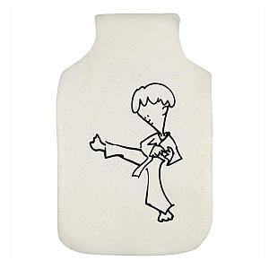 Karate Boy Hot Water Bottle