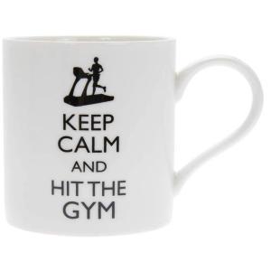 Keep Calm and Hit The Gym Mug