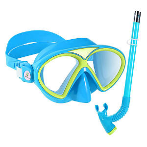 Kid's Scuba Diving Mask And Snorkel