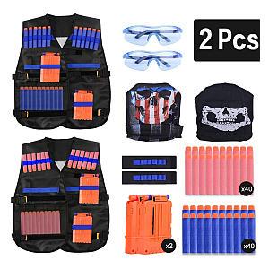 Kids Tactical Vest Set
