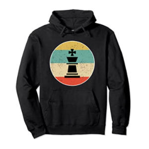 King Chess Retro Hoodie