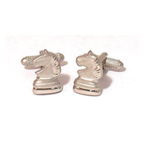 Knight Chess Game Cufflinks