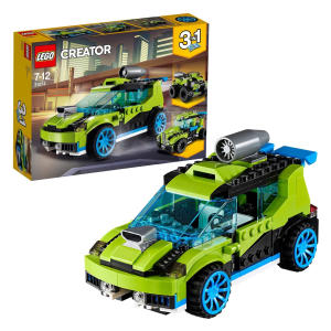 LEGO Rally Car Jet Truck and Quad Bike Building Set