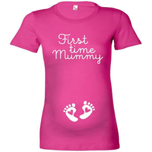 First Time Mummy Maternity T-Shirt