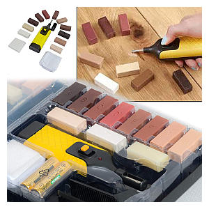 Laminate Floor & Worktop Furniture Repair Tool Kit