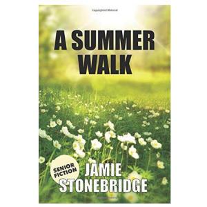 A Summer Walk: Large Print Fiction