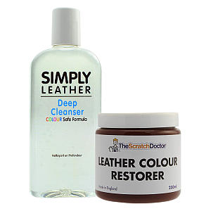 Leather Cleaner & Colour Restorer