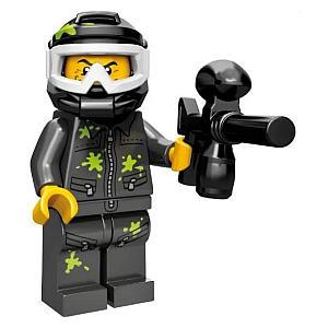 Lego Mini Paintball Figure