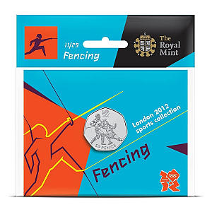 London 2012 - The 50p Sports Collection - Fencing