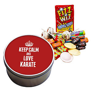Love Karate Sweet Tin