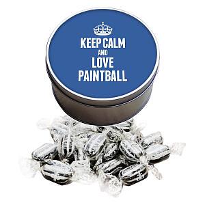 Love Paintball Mints Sweet Tin