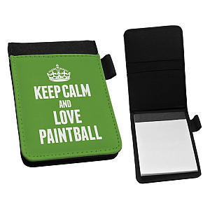 Love Paintball Small Notebook