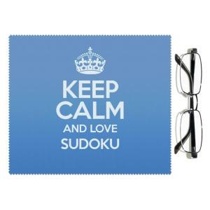 Love Sudoku Lens Cloth