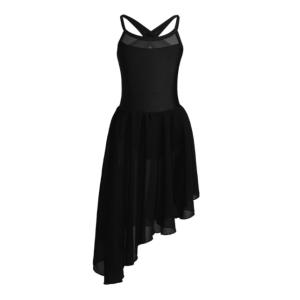 Low Skirt Ballroom Dancing Dress