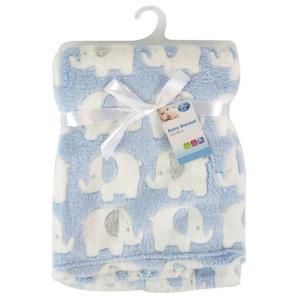 First Steps Luxury Soft Fleece Baby Blanket