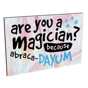 Magician Fridge Magnet
