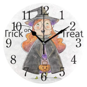 Magician Girl Desk Clock