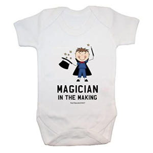 Magician In The Making Baby Bodysuit
