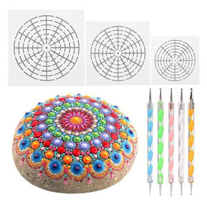 Mandala Rock Painting Tool Kit