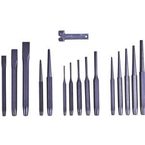 16pc Mechanics Punch and Chisel Set