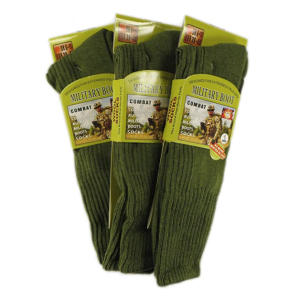 Men's Army Socks X 3
