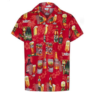 Beer Bottle Design Hawaiian Shirt