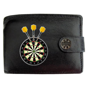 Men's Dart Board Design Wallet