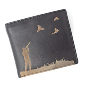 Mens Wallet with Hunting Image