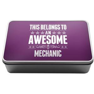 Awesome Mechanic Metal Storage Box
